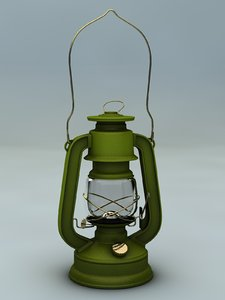 lamp gas 3d model