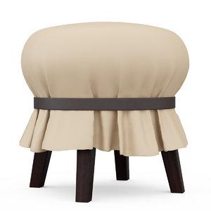 3d andrea mancuso popit stool