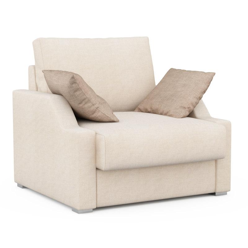 armchair alba vicente gallega 3d max