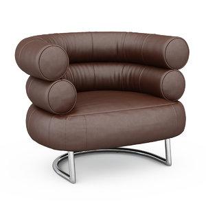 3d armchair bibendum model