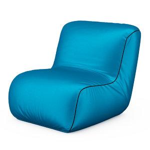 3d armchair birba p model