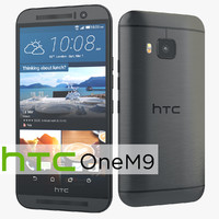 HTC One M9 Flagship Smartphone Gunmetal Gray