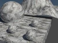 construction debris textures