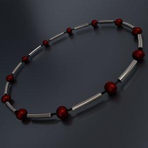 3d bead bracelet