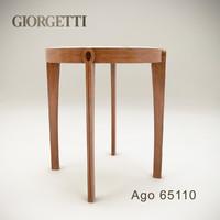 3d giorgetti ago 65110 model