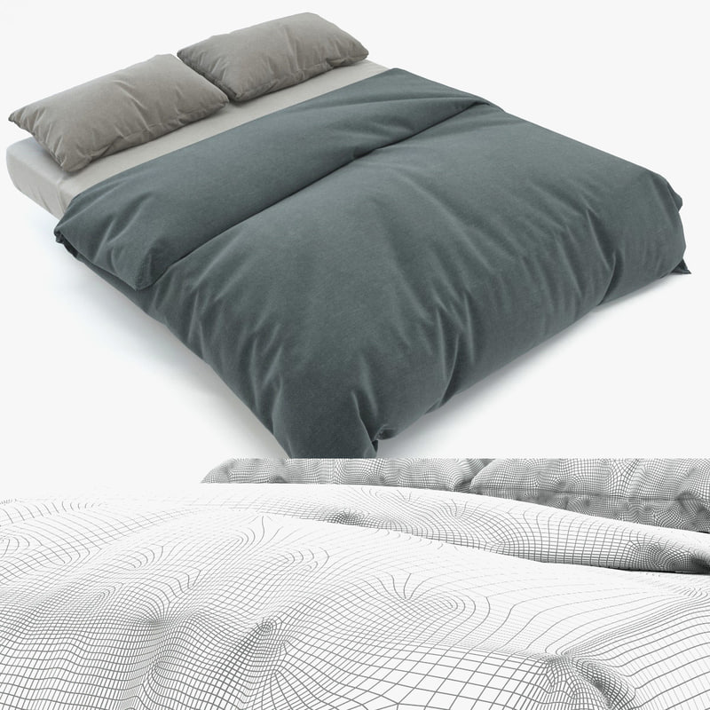 3d realistic bed photorealistic
