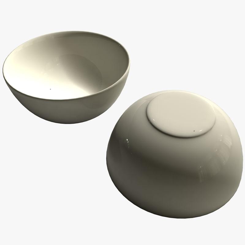 breakfast bowl 3d model