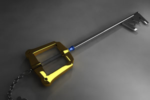 weapon kingdom hearts 3d obj