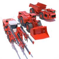 sandvik mining machines max