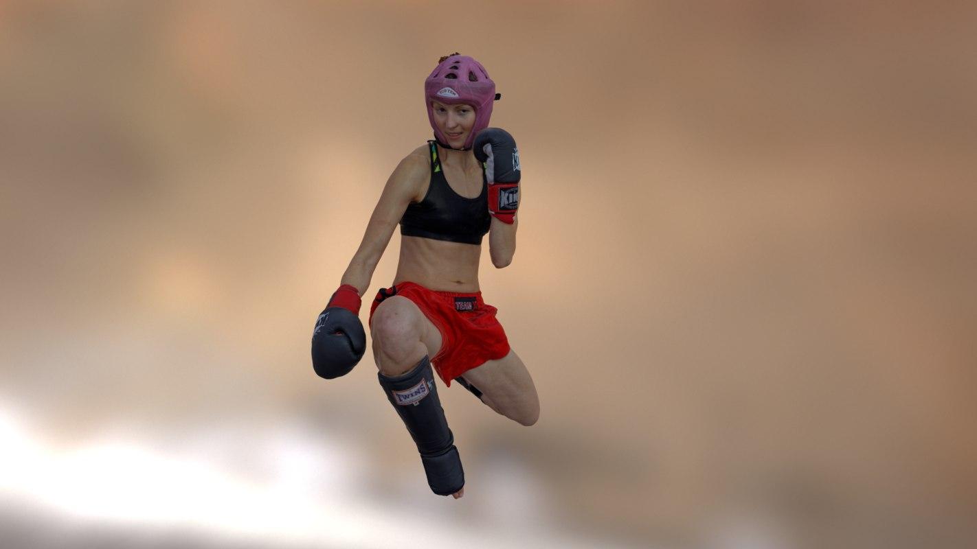 maya scanned boxing girl
