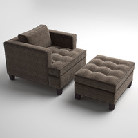 3ds max temple club chair