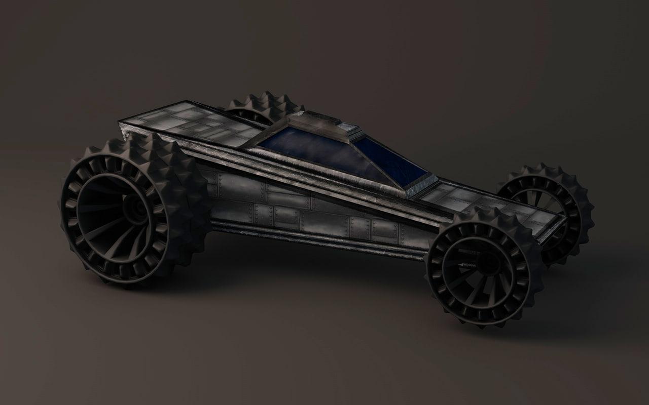 3dsmax apocalypse car