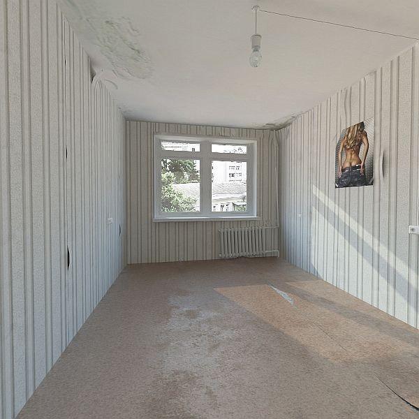 old base interior scene 3d model