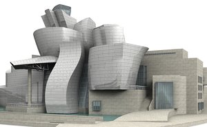 3d model guggenheim museum