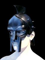 3ds max gladiator helmet