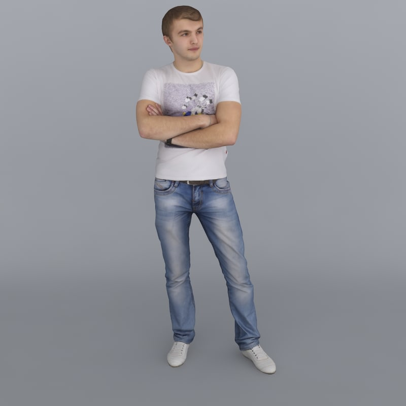3ds max human new