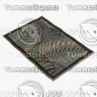 loloi rugs am-03 blue 3d max
