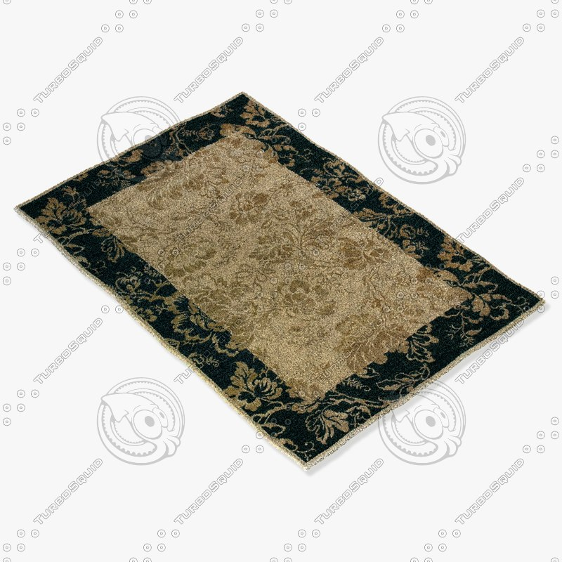 loloi rugs am-04 beige 3d model