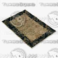 loloi rugs am-04 beige 3d model