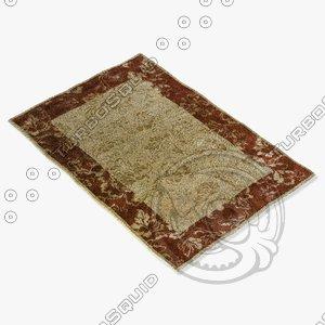 3d model loloi rugs am-04 beige