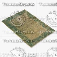 3d loloi rugs am-04 beige model
