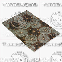 3ds max loloi rugs am-09 chocolate