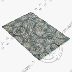 3ds max loloi rugs av-05 charcoal
