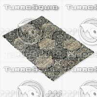 loloi rugs av-07 black 3d max