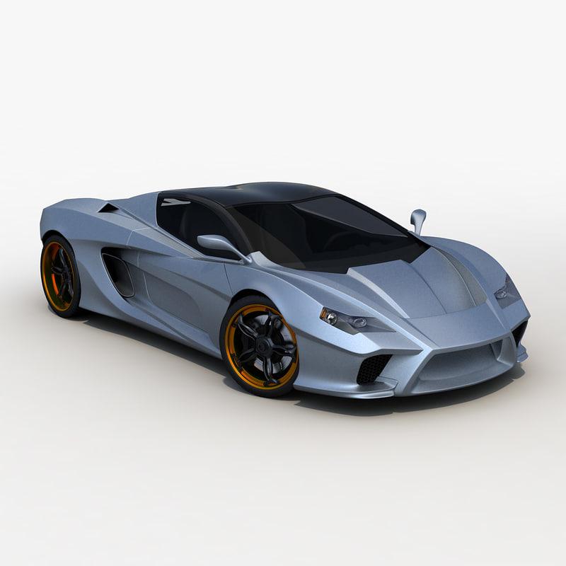 3d killer gt concept model