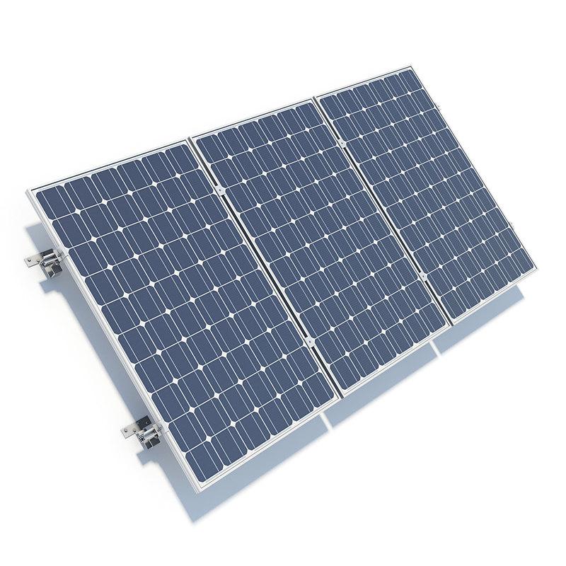 solar panels 3ds