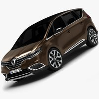 2015 Renault Espace (Low Interior)