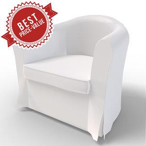 3d model super chair sofa
