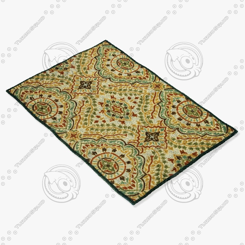 loloi rugs bx-03 spice 3d 3ds
