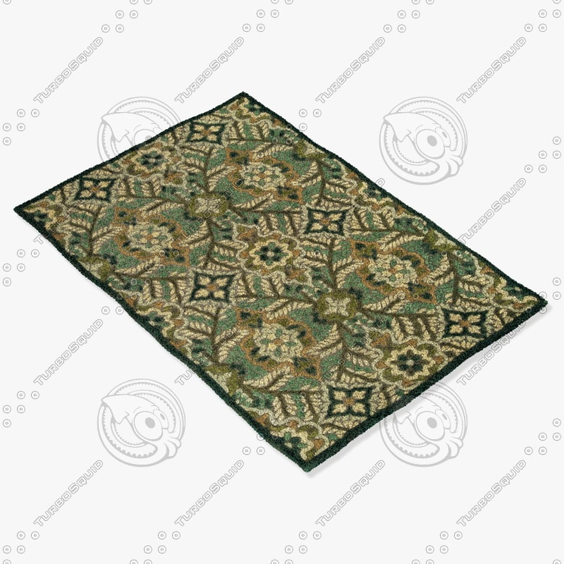 3ds max loloi rugs bx-05 forest
