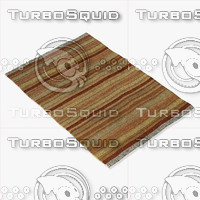 loloi rugs cm-03 rust 3d model