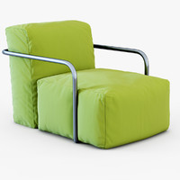 armchair bubbly 3d max