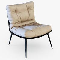 3d model chair chris