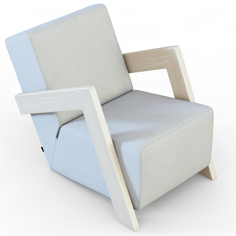 armchair daddy s 3d max