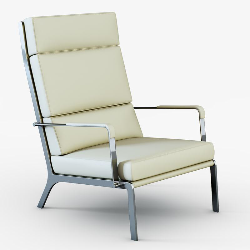 3d armchair gilbert
