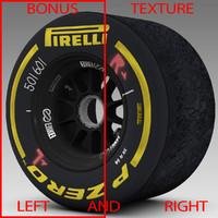 3d pirelli tyre enkei