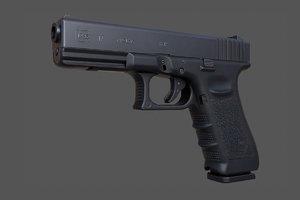 glock 17 3d x