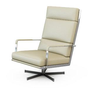 armchair gilbert chair 3d max
