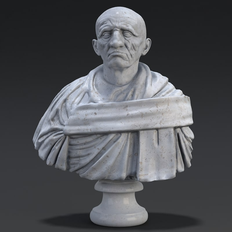 roman bust max