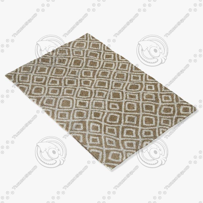 loloi rugs ct-02 beige 3d 3ds