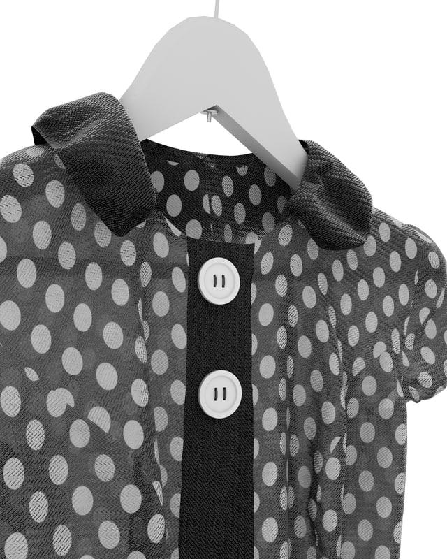 3d max dress hanger
