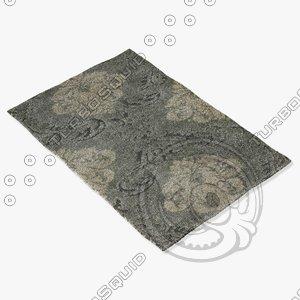 3d max loloi rugs en-03 smoke