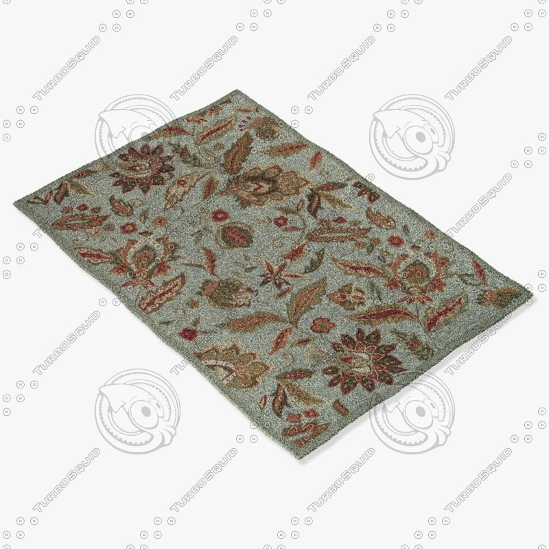 3d loloi rugs fc-01 blue