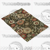 loloi rugs fc-02 brown 3d model