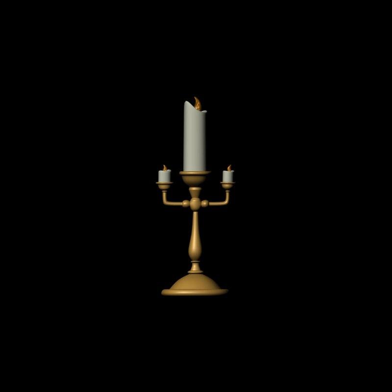 candelabra 3d ma
