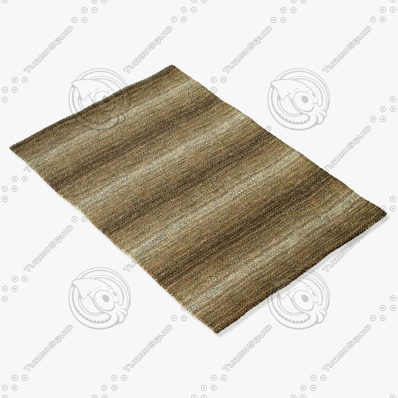 loloi rugs fz-05 twill 3d model